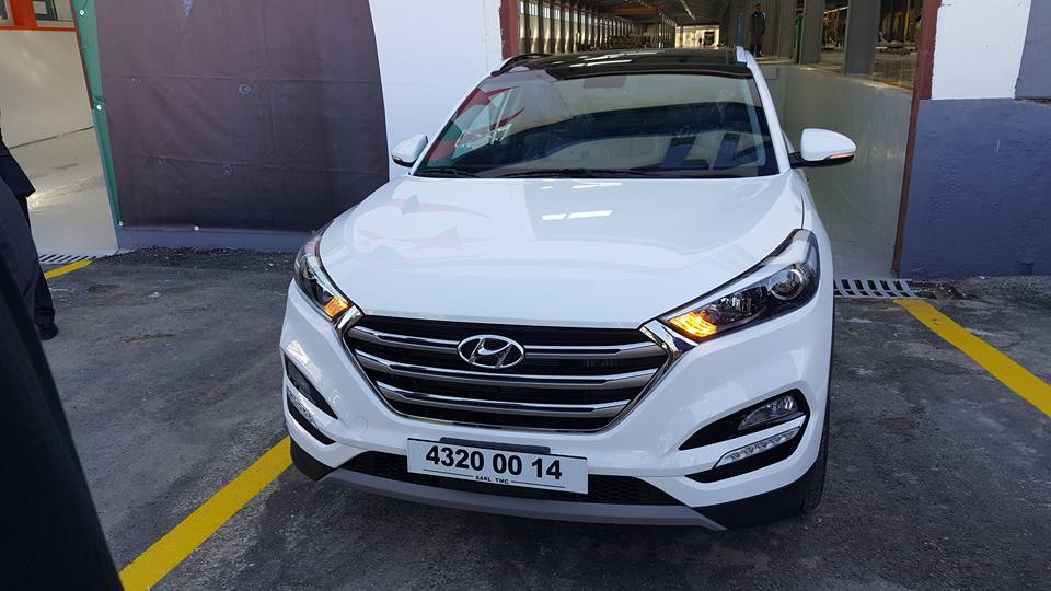 Sortie d'usine du premier véhicule Hyundai monté à Tiaret