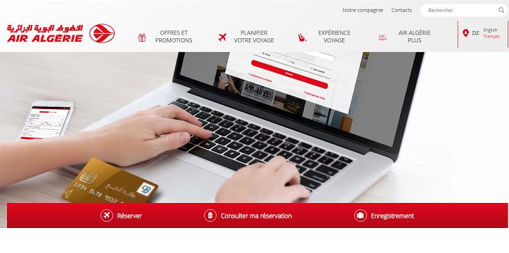 Air Algérie relooke son site web