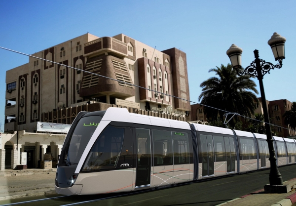 Ouargla a désormais son Tramway