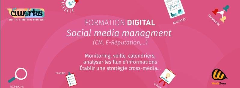 Alger- Formation en social media management en février