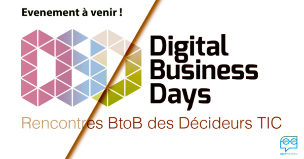 Les Digital Business days le 8 mai à Alger