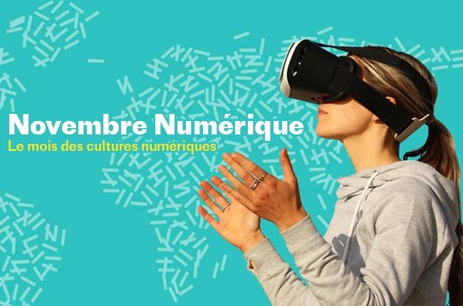 Novembre cultures numériques algérie