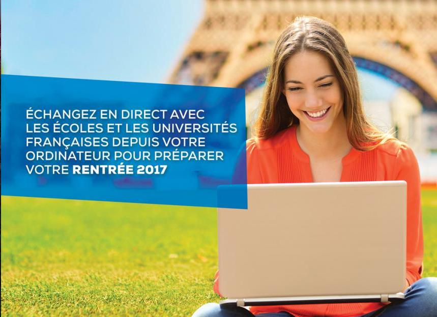 Campus France organise un salon en ligne des études