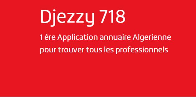 Djezzy lance l'annuaire 718 sur mobile