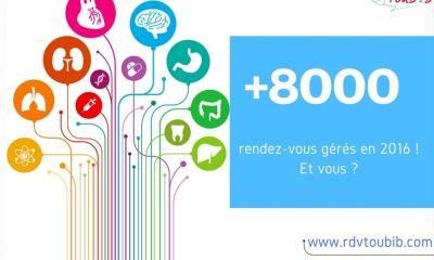 Application e-santé RDVToubib