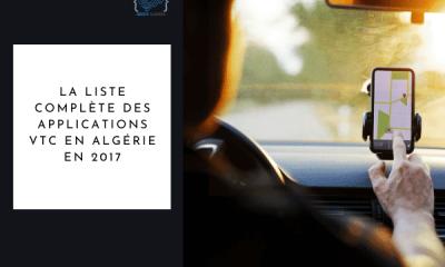 VTC Algérie liste 2017