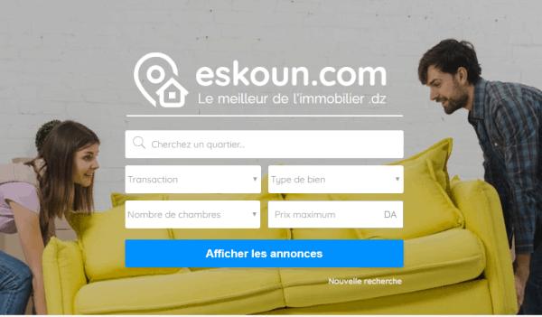 Eskoun site immobilier