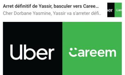 Careem Yassir notification