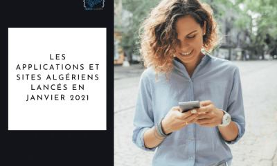 Applications & sites algériens Janvier 2021