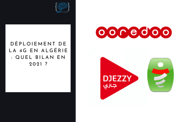 Déploiement 4G Algérie