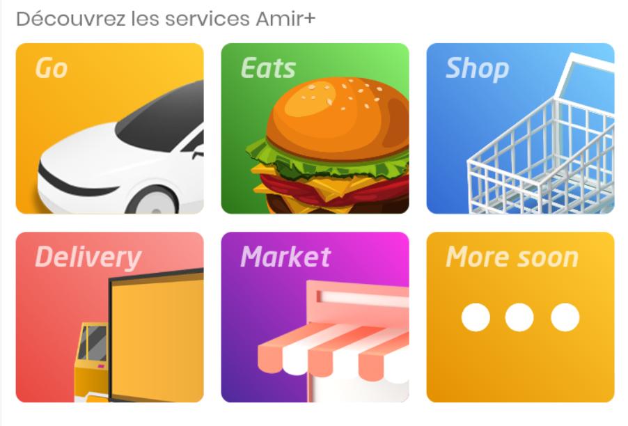 amir+ services